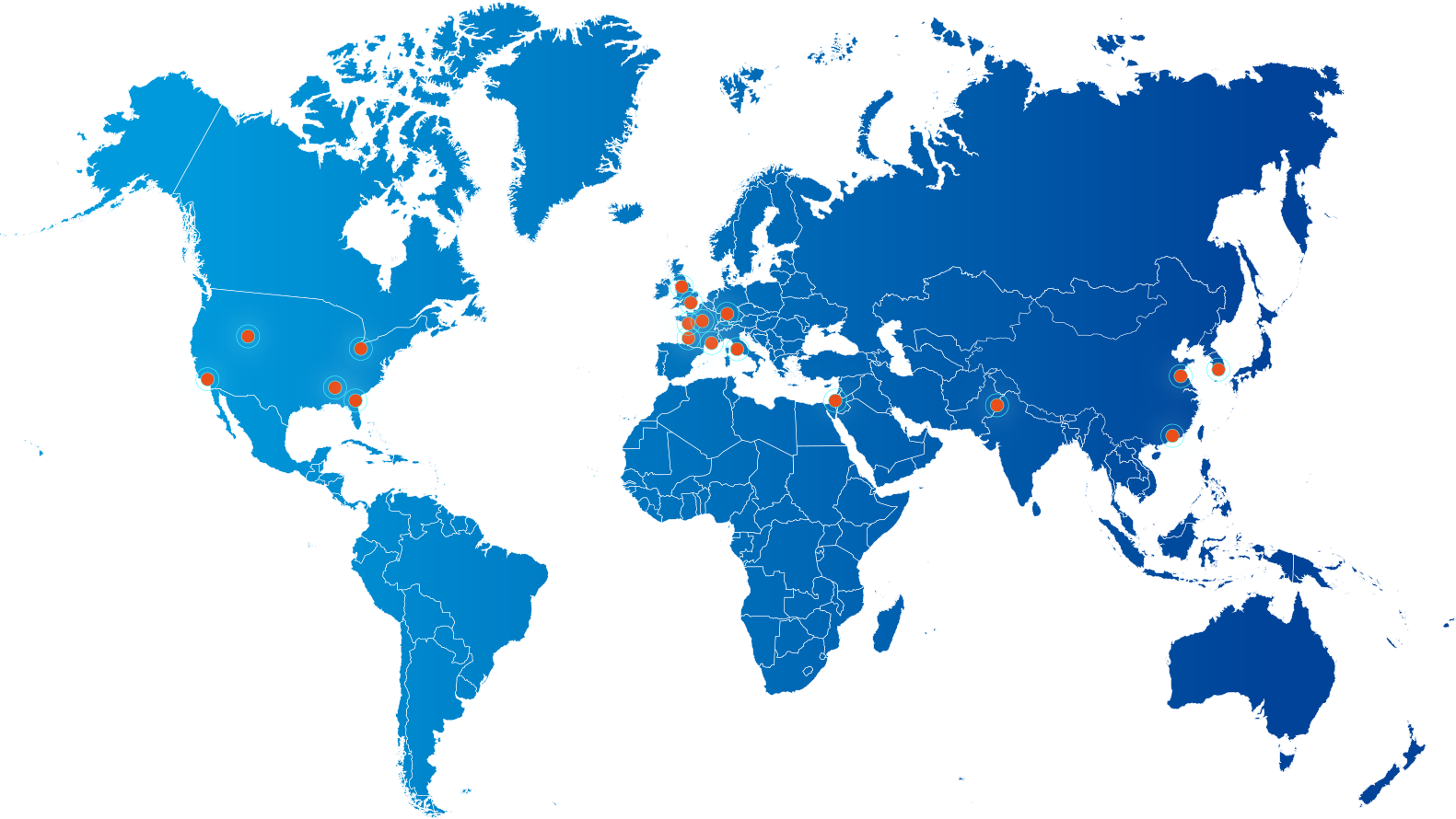 Welco has customers around the world